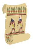 papyrus stock illustrationer