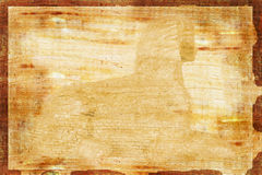 Papyrus avec le filigrane de Sphnix Photographie stock libre de droits