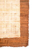 Papyrus background Royalty Free Stock Photography