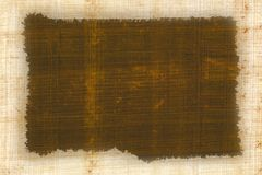 Papyrus frame stock photo
