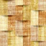 Papyrus natuurlijk patroon - naadloze achtergrond royalty-vrije illustratie