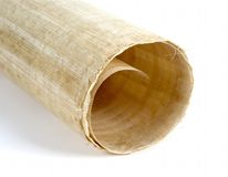 Papyrus roll 1 Royalty Free Stock Images