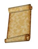 Papyrus scroll Royalty Free Stock Images