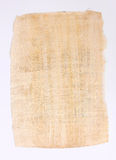 Papyrus sheet paper Stock Image