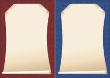 Papyrushintergründe Stockfoto