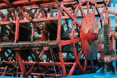 Paquebot de vapeur de roue arrière d'étoile de la Louisiane dans le port de Hambourg photo stock