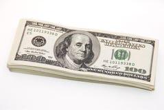 Paquet épais d'argent Photographie stock