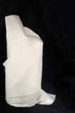 Paquet beige de tissu Image stock