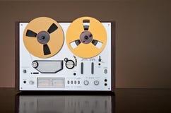 Paquet bobine à bobine de magnétophone de cru Photographie stock libre de droits
