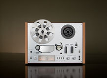 Paquet bobine à bobine de magnétophone de cru Images stock