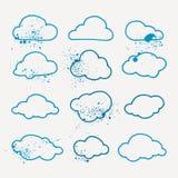 Paquet d'icônes de vecteur illustration stock