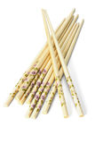 Paquet de baguettes chinoises Photos stock