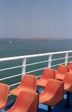 paquet de bateau Photos libres de droits