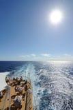 Paquet de bateau de croisière photo stock
