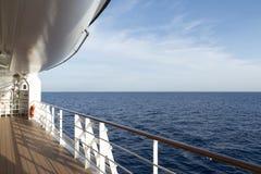 Paquet de bateau de croisière Photographie stock libre de droits