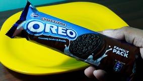 Paquet de biscuit d'Oreo Photographie stock libre de droits