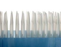 Paquet de bouts en plastique de compte-gouttes image stock