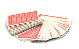 Paquet de cartes Image libre de droits