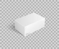 Paquet de carton pour garder le vecteur d'icône de choses illustration stock