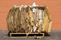 Paquet de carton pour la réutilisation photo libre de droits