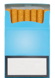 Paquet de cigarettes photos stock