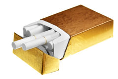 paquet de cigarettes Photographie stock libre de droits