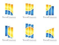 Paquet de conception de logo illustration libre de droits