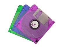 Paquet de disquettes Images libres de droits