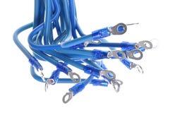 Paquet de fils électriques avec des terminaux Images stock