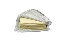 Paquet de fromage fondu Image stock