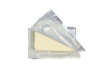 Paquet de fromage fondu Photo libre de droits