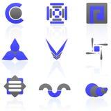 Paquet de logo Photographie stock libre de droits