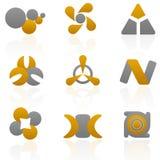 Paquet de logo Photographie stock