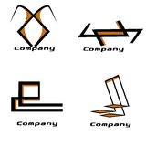 Paquet de logo de compagnie Photographie stock libre de droits
