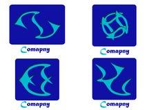 Paquet de logo de compagnie Images stock