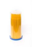 Paquet de Microbrush dentaire images libres de droits