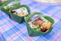 Paquet de nourriture Image libre de droits