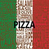 Paquet de pizza image libre de droits