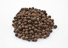 Paquet de poivre de Jamaïque Photo stock