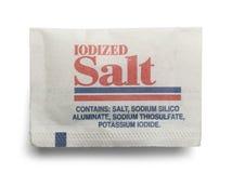 Paquet de sel Photo libre de droits