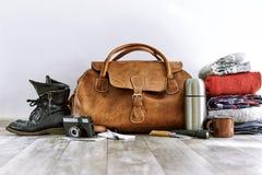 Paquet de voyage Photos libres de droits