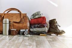 Paquet de voyage Photographie stock libre de droits