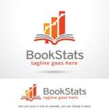 Paquet Logo Template Design Vector de stat de livre Photos libres de droits
