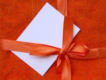 Paquet rouge Photos libres de droits
