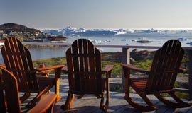Paquet sur la mer arctique Photographie stock