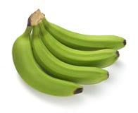 Paquet vert de banane Image stock