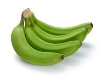 Paquet vert de banane Image libre de droits