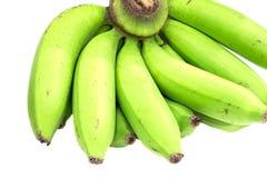 Paquet vert de banane Photos stock