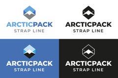 Paquete ártico imagenes de archivo