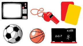 Paquete 01 de los deportes Fotografía de archivo libre de regalías